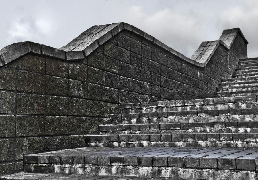 Каменная лестница в небо.... Блиц: камни