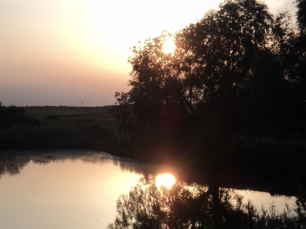 два солнца на закате... . Блиц: рассветы и закаты