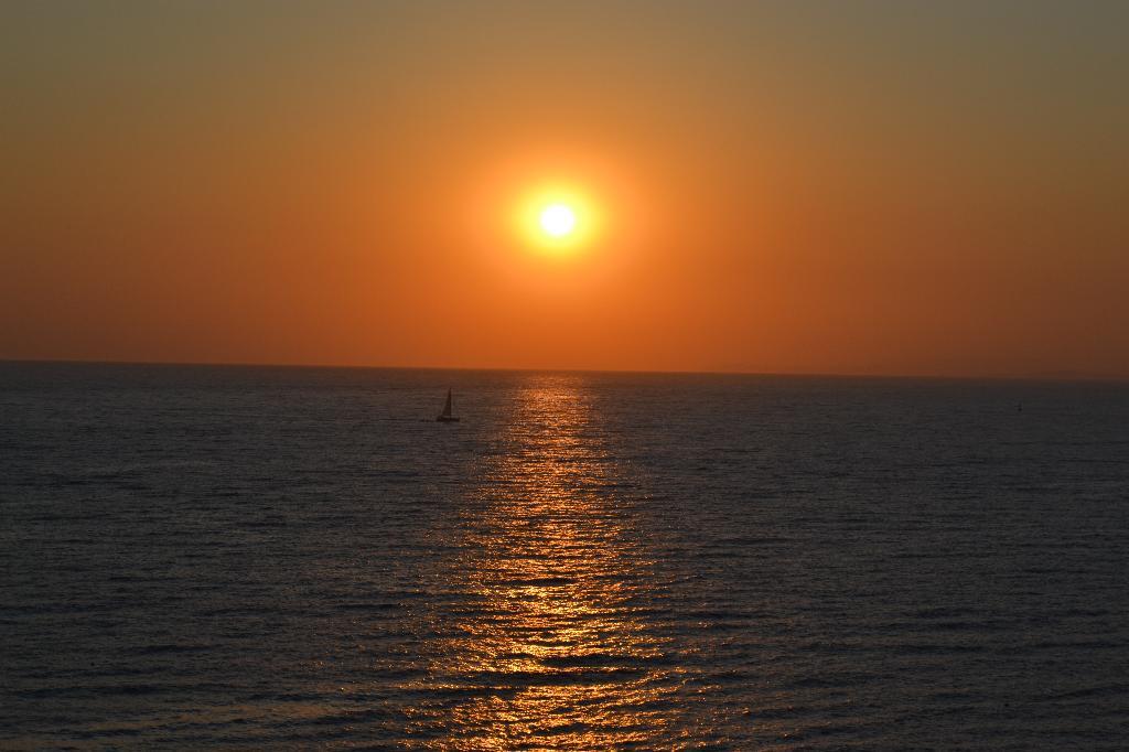 закат на Эгейском море. Блиц: рассветы и закаты