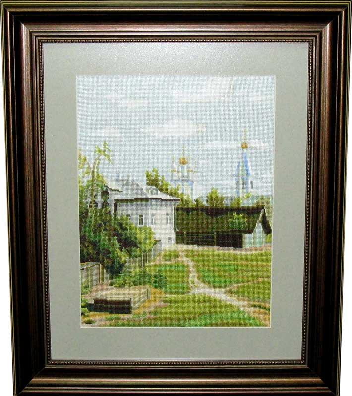 Московский дворик. Пейзажи