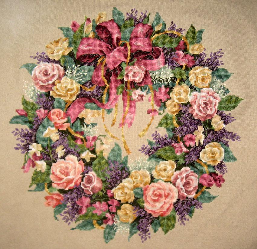 № 20. Розовый венок от Дима