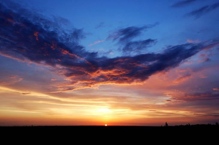 Рязанский закат. Блиц: рассветы и закаты