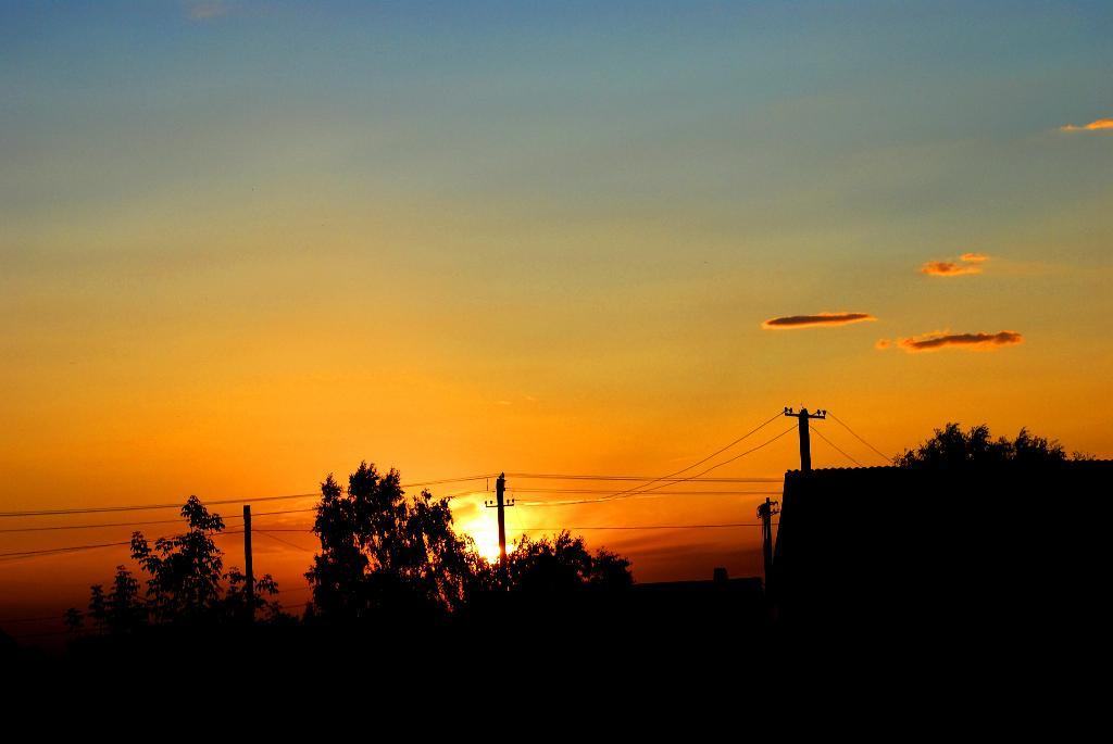 Супер закат. Блиц: рассветы и закаты