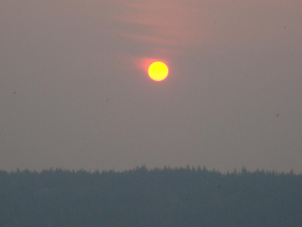 горящее солнце ложиться спать. Блиц: рассветы и закаты
