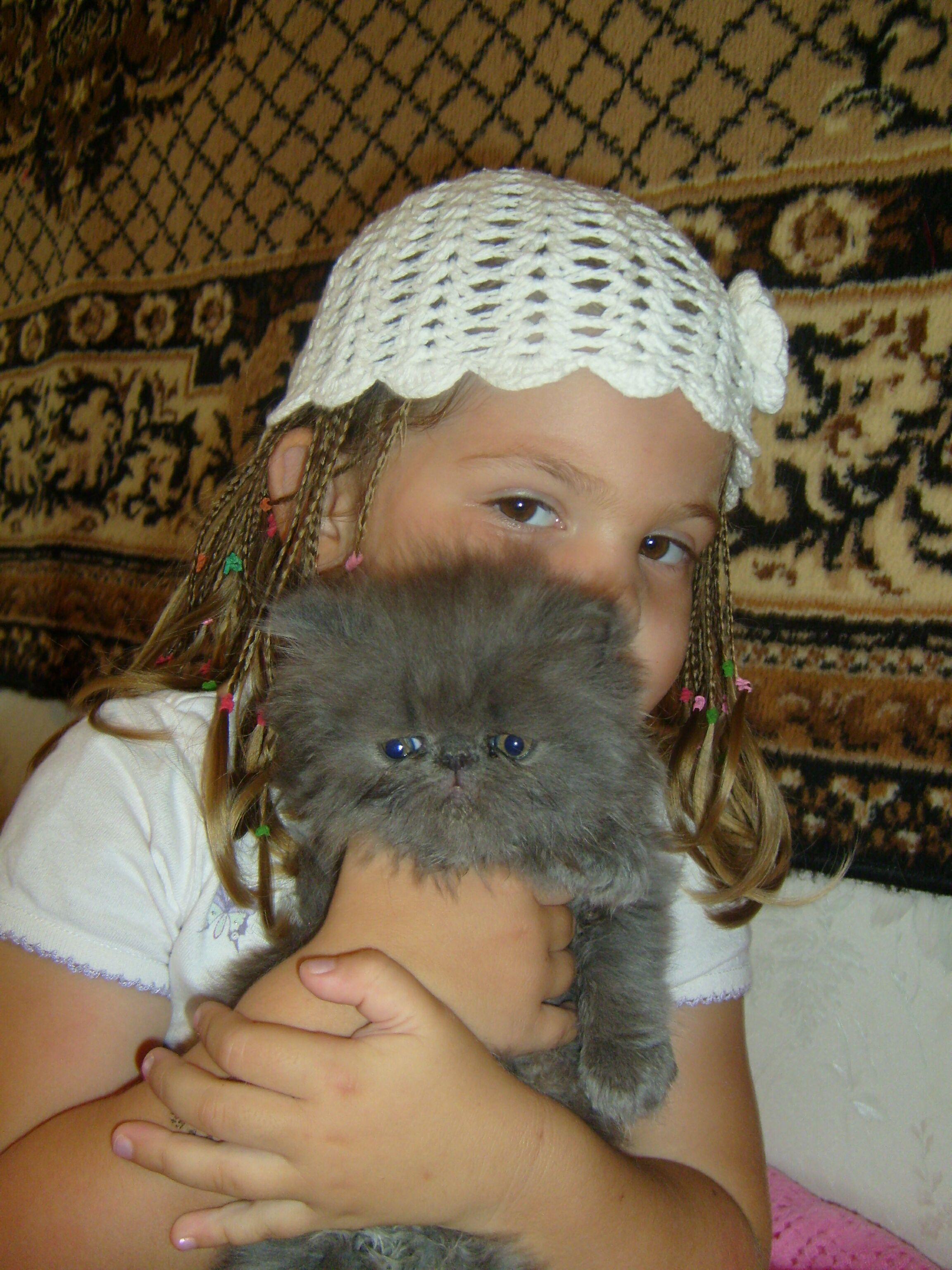 Мой пушистый друг!. Кошки и дети
