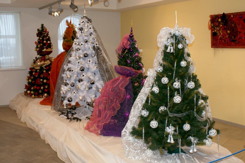 Елочки в музее радуют глаз круглый год :). Блиц: новогодняя ёлка