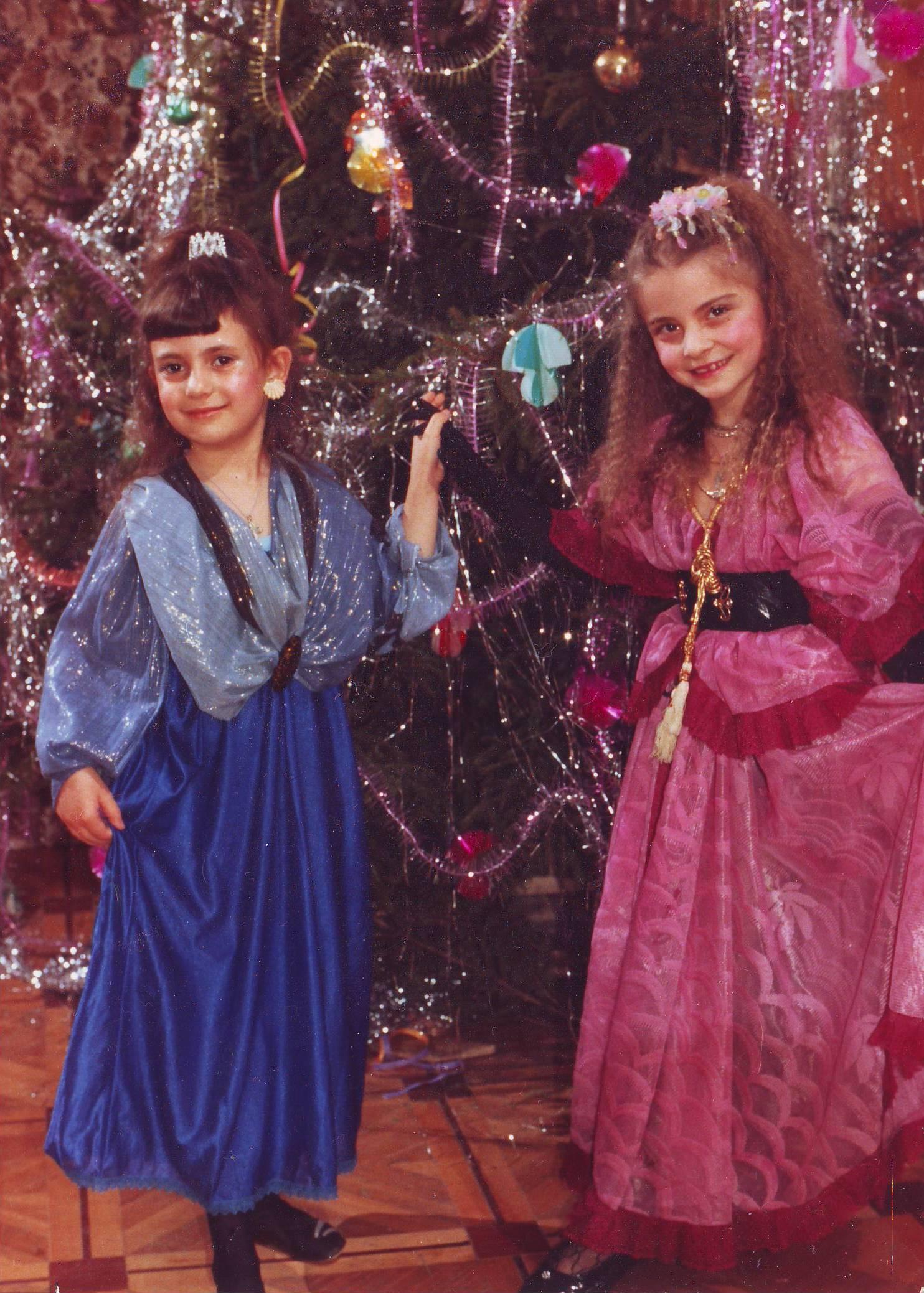 Наши куклы. Блиц: новогодняя ёлка