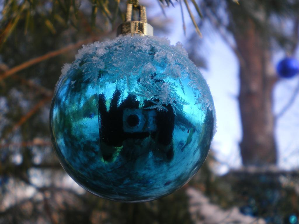 Зеркало. Блиц: новогодняя ёлка