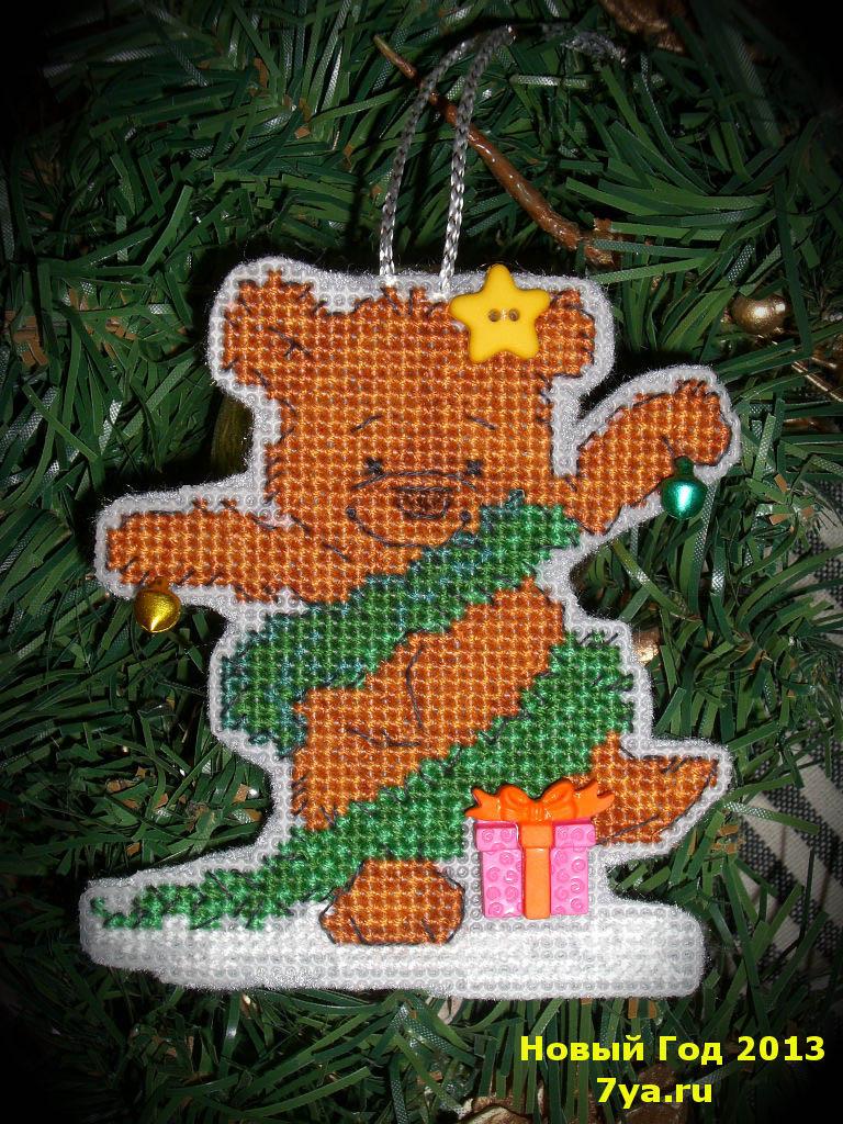 12 - Tanya&Anya для Chales. 2012 Новогодняя игрушка