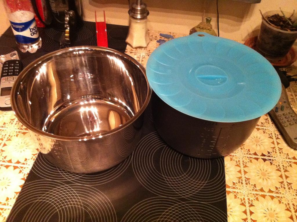 Вакуумная крышка для запасной чаши.. Мультиварки тест-драйв.