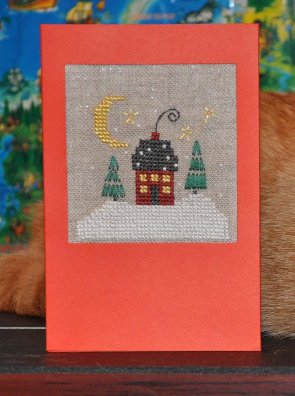 9 - Рыжий Зай. 2012 Проект Зимняя открытка