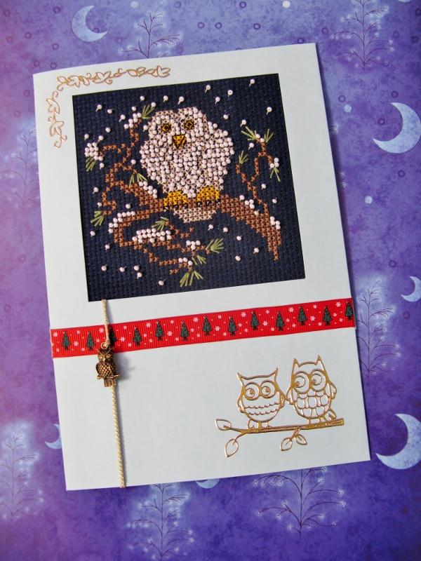23 - Даритта. 2012 Проект Зимняя открытка