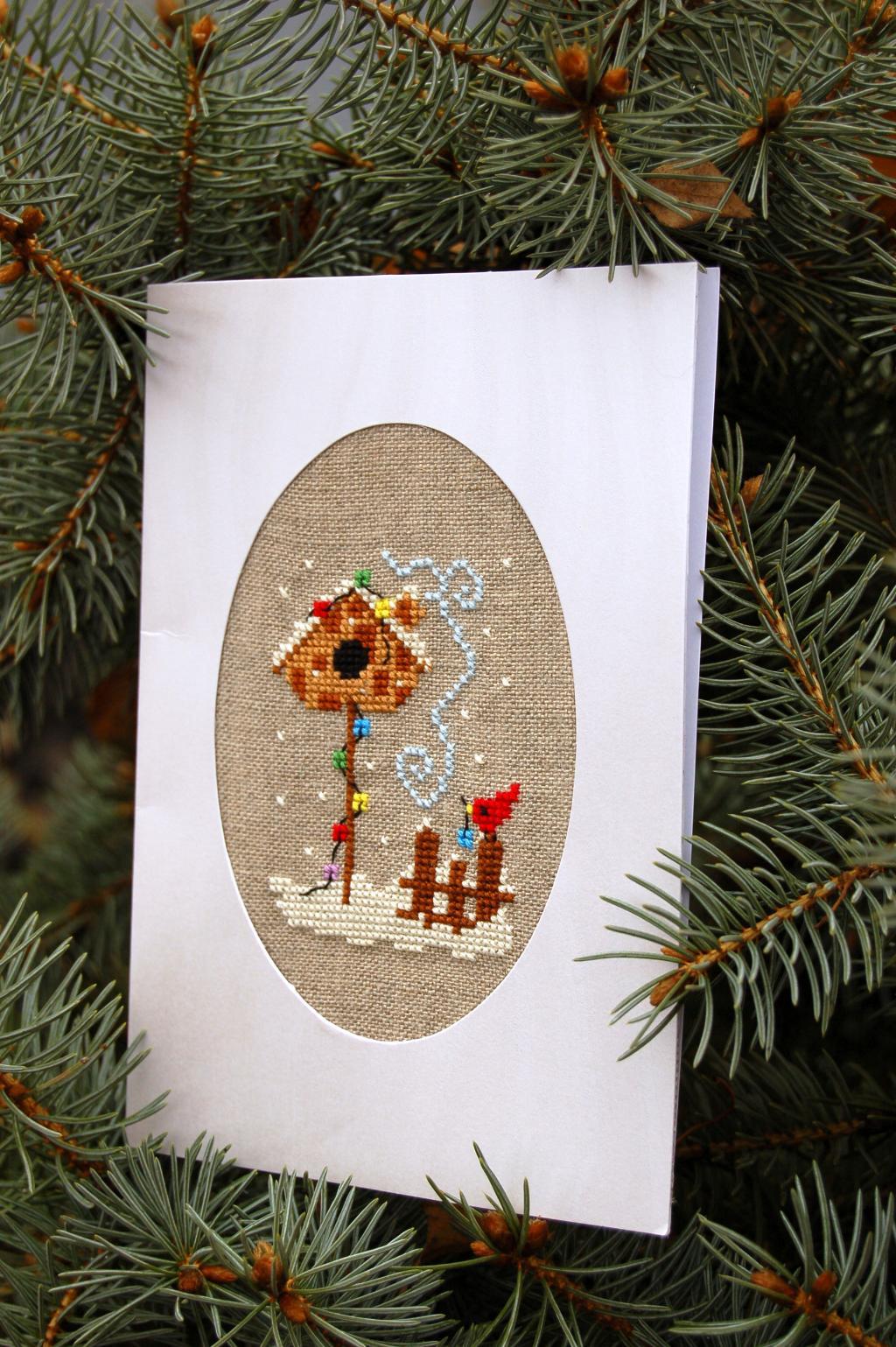 25 - Катенька. 2012 Проект Зимняя открытка