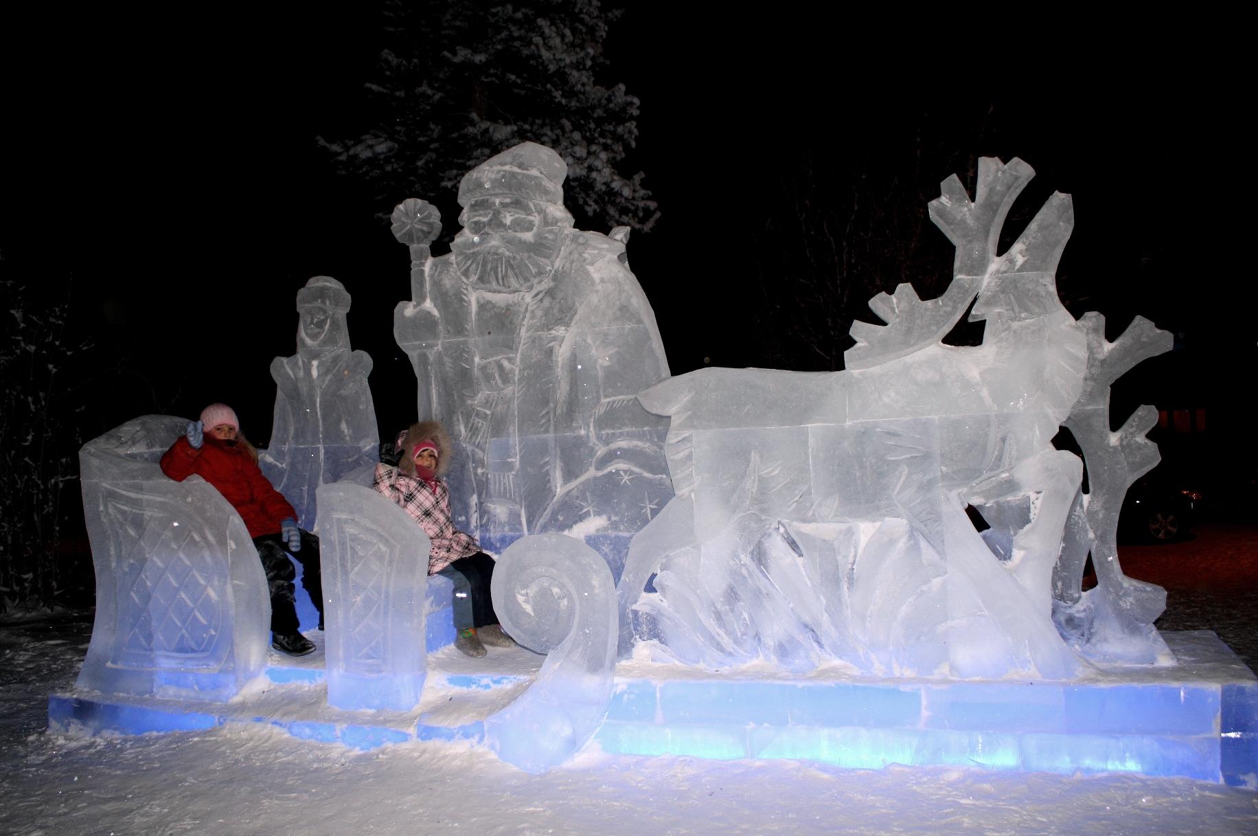 Фигурки из льда картинки того