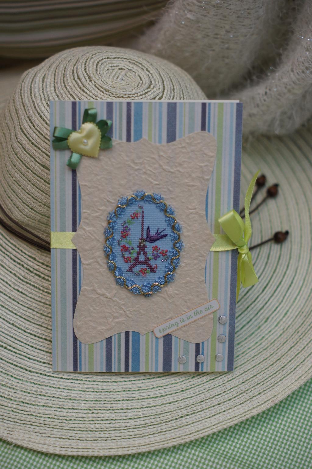 7 Маркуша. 2012 год - Весенние открытки