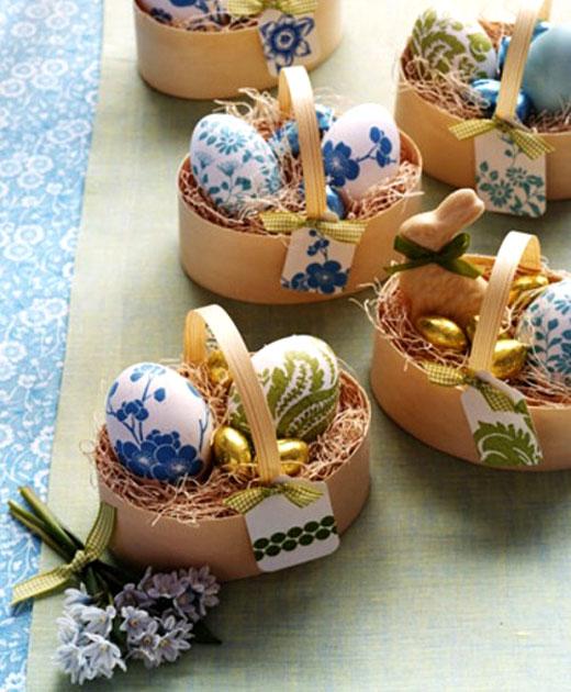 Идеи декора и украшения праздничного стола к Пасхе. Идеи поделок своими руками