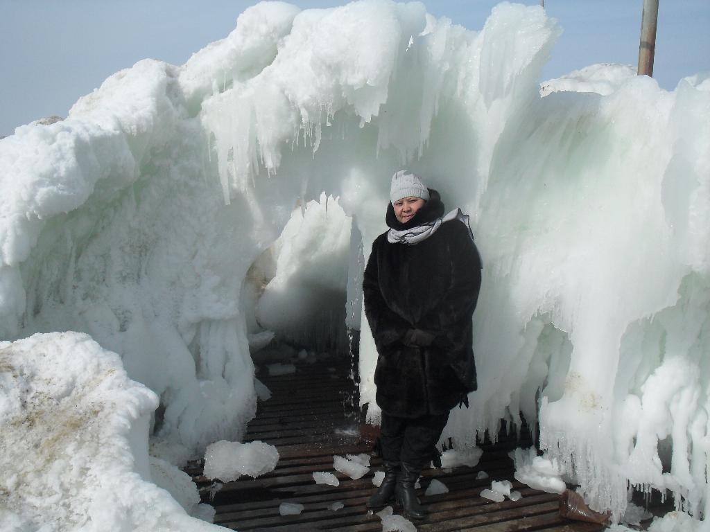 ледяные пещеры. Блиц: фигуры из снега и льда