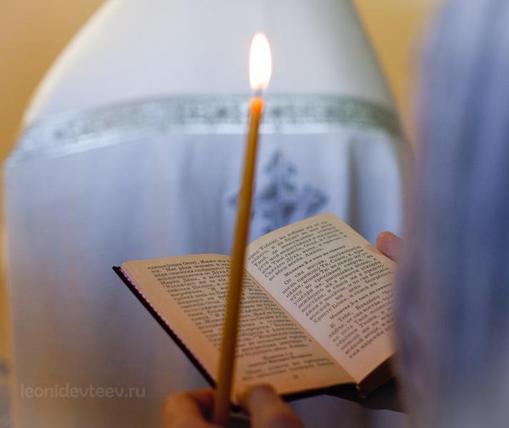 Крещение. Храм в Барвихе.. Крещение