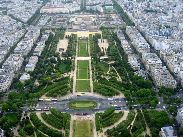 Париж. Блиц: полоски