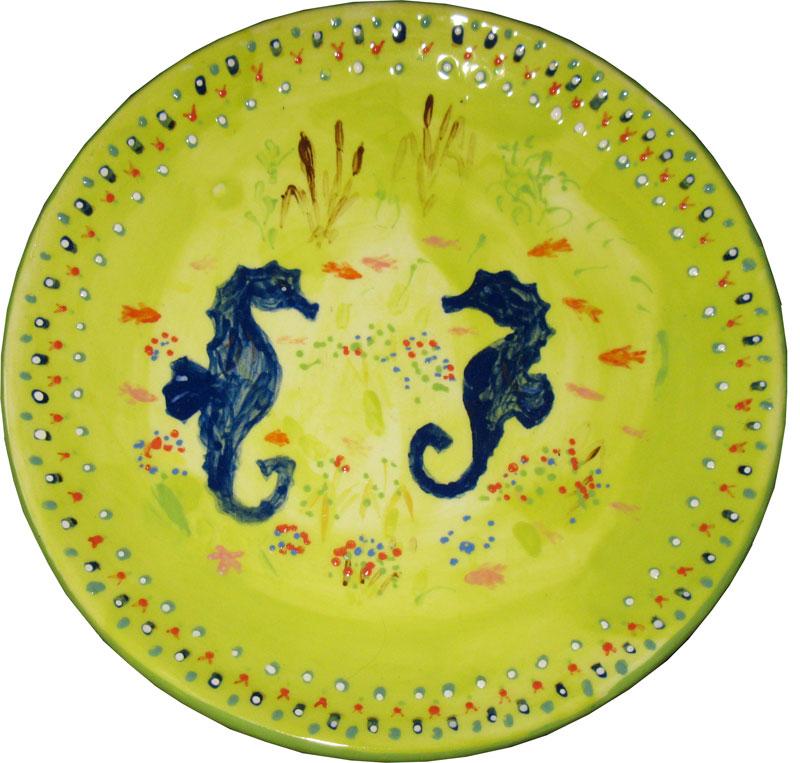 Моя тарелка. Стекло, керамика