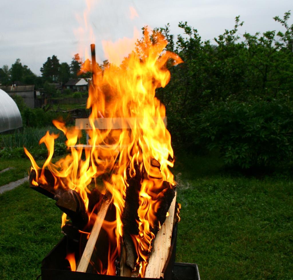 Языки пламени.. Блиц: огонь