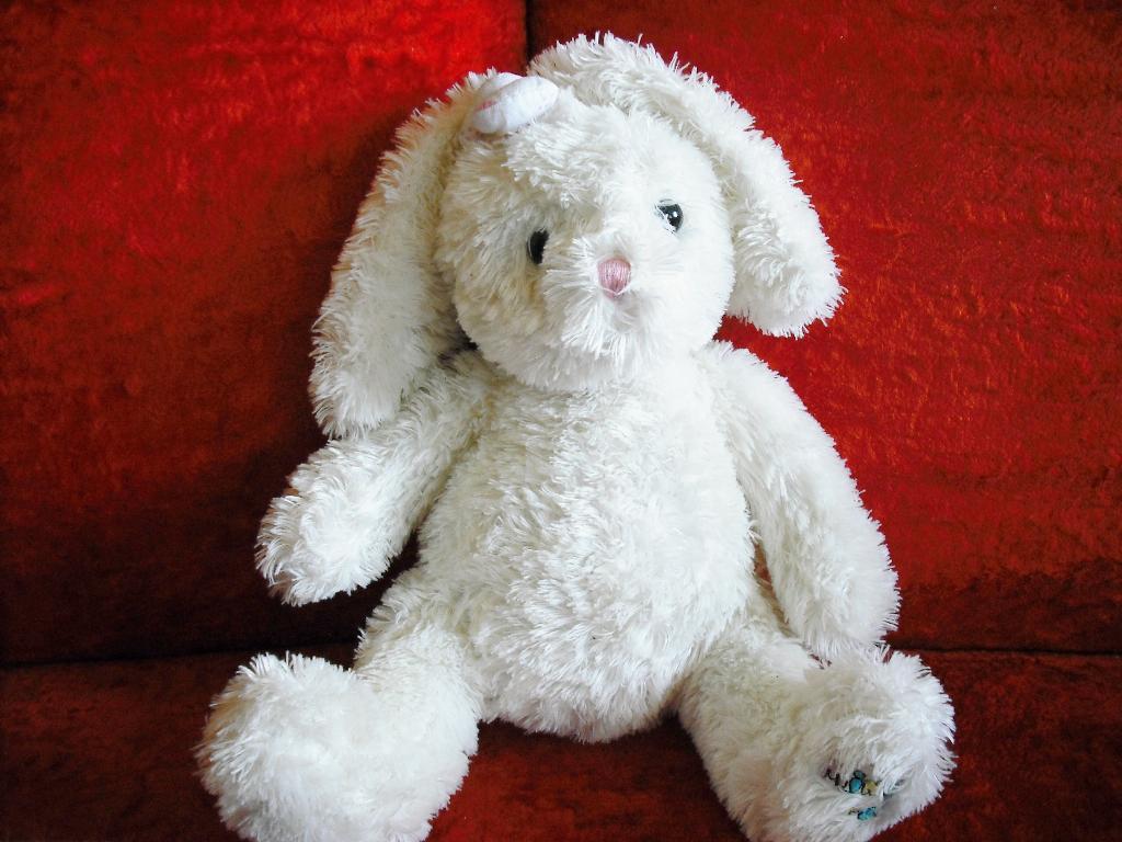 Любимый заяц моей дочки.