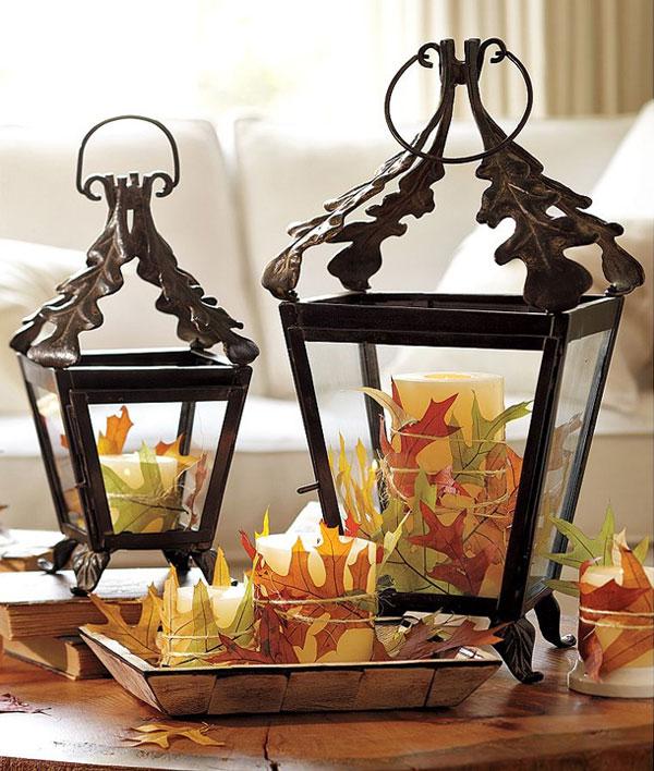 Осенний декор в оформлении интерьера. Идеи поделок своими руками
