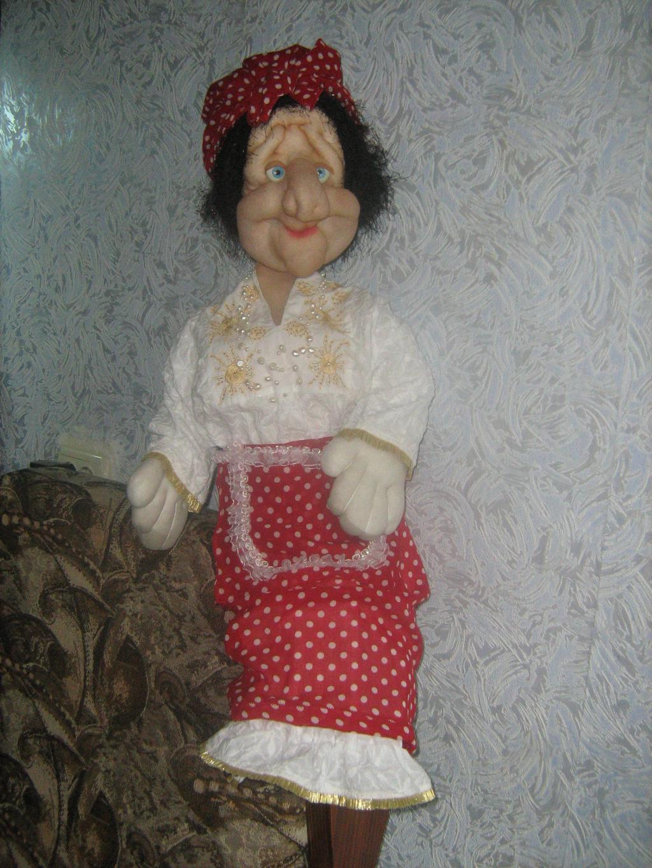 Бабуся-Ягуся . Самодельные игрушки
