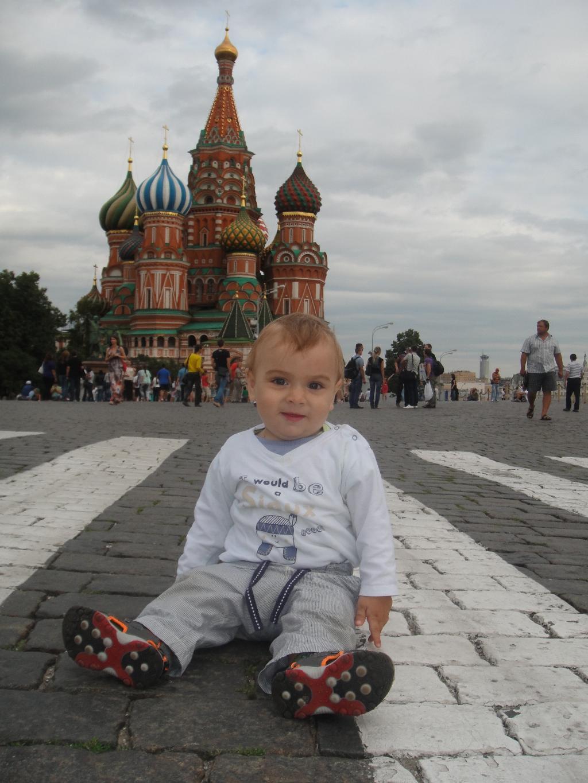 Побывал на красной площади!!!. Юный путешественник