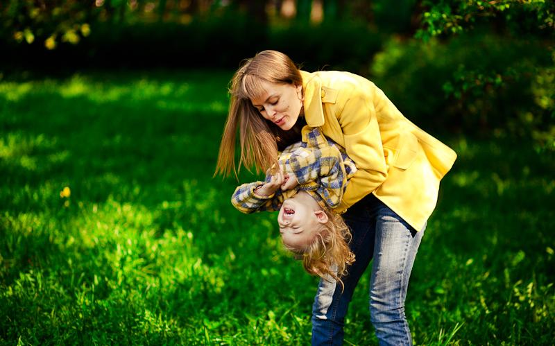 Счастье быть мамой. Счастливая мама