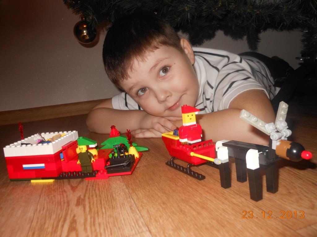 В Новый Год с LEGO. Наряди елку с LEGO
