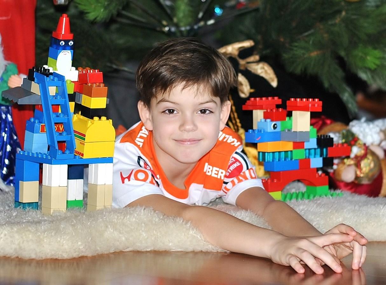 Веселый праздник - Новый год!. Наряди елку с LEGO