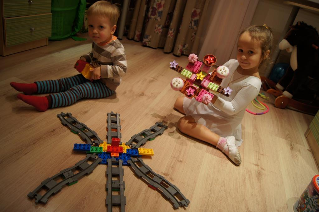 Мега-лего снежинки. Наряди елку с LEGO