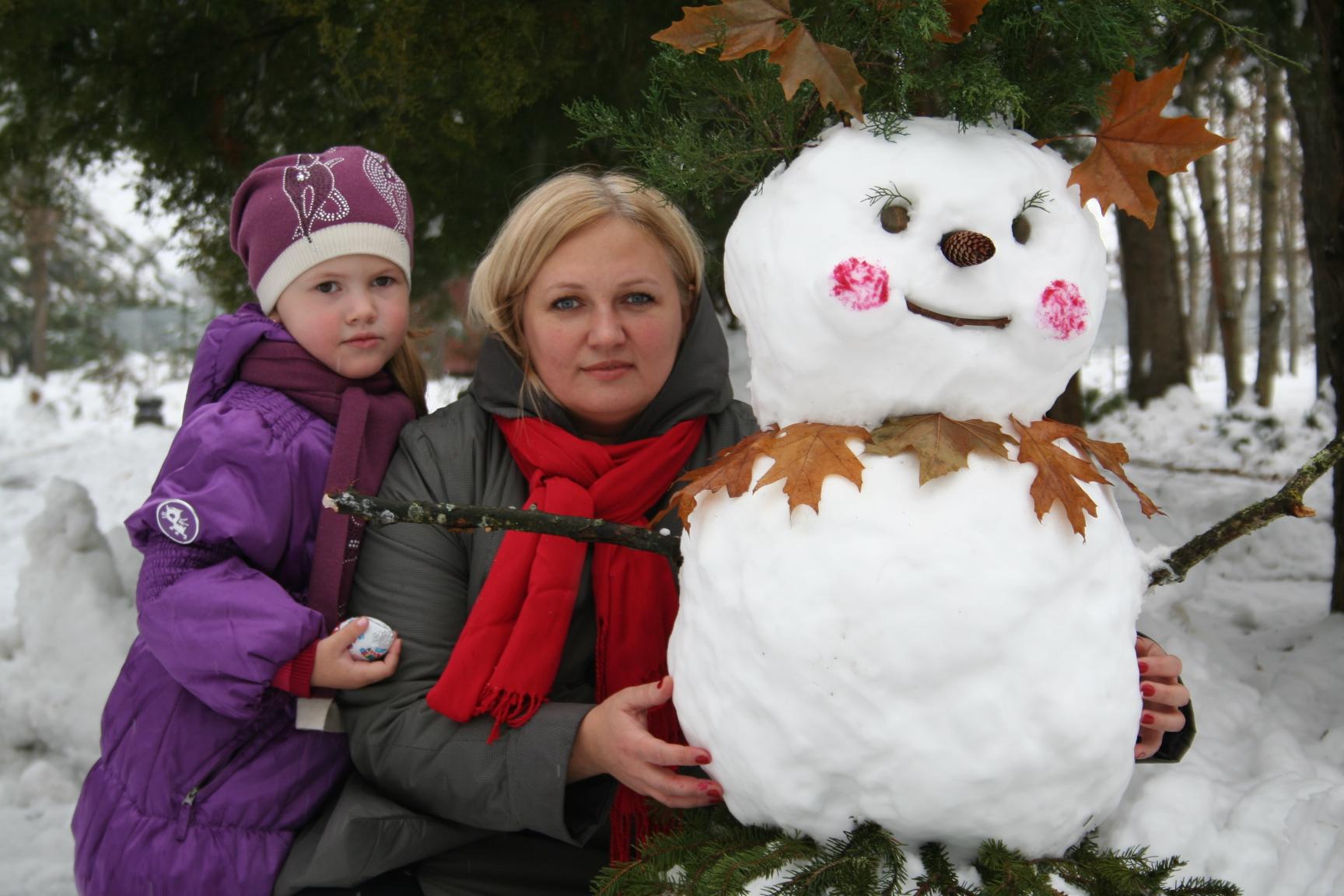 Снежная красавица. Закрытое голосование фотоконкурса 'В гостях у снеговиков'