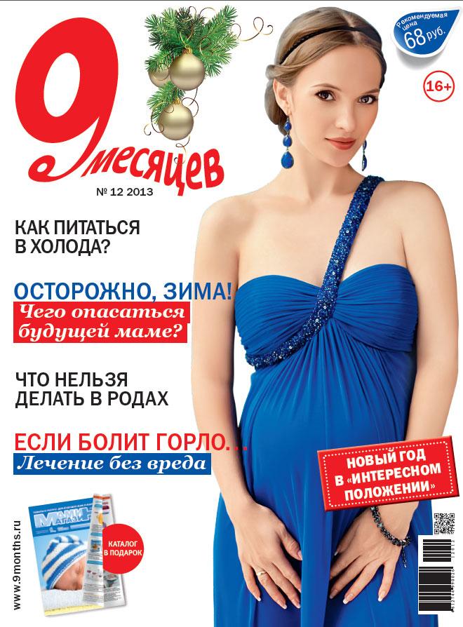 Журнал '9 месяцев'. Конкурс 'Лучшая новогодняя обложка 2014'