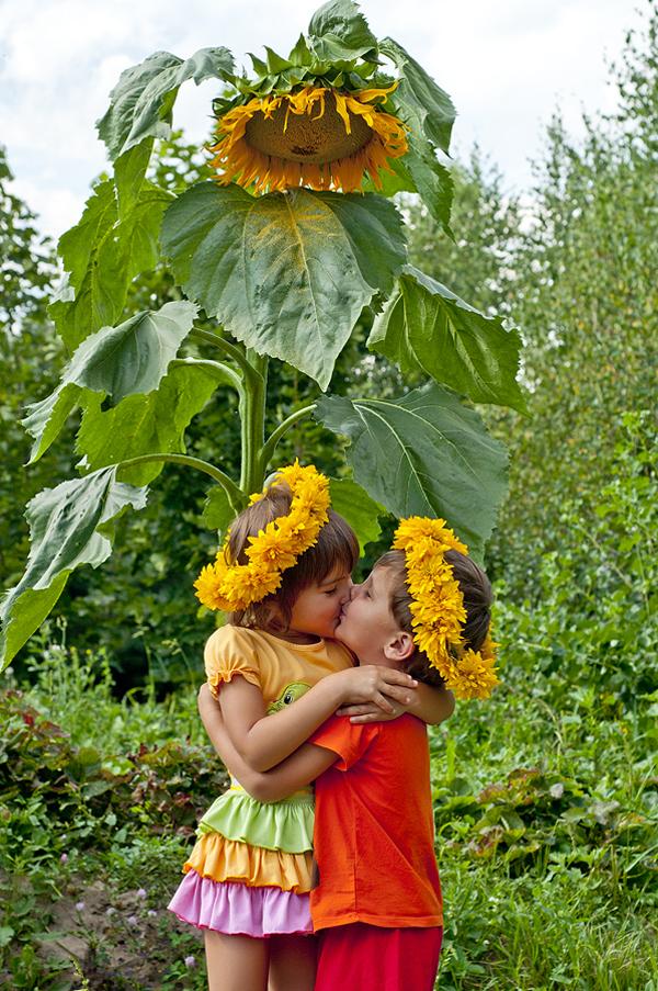 Дети- цветы жизни)). Цветочное настроение