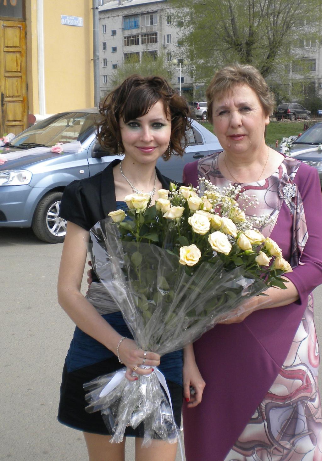 С любимой мамочкой!. Цветочное настроение