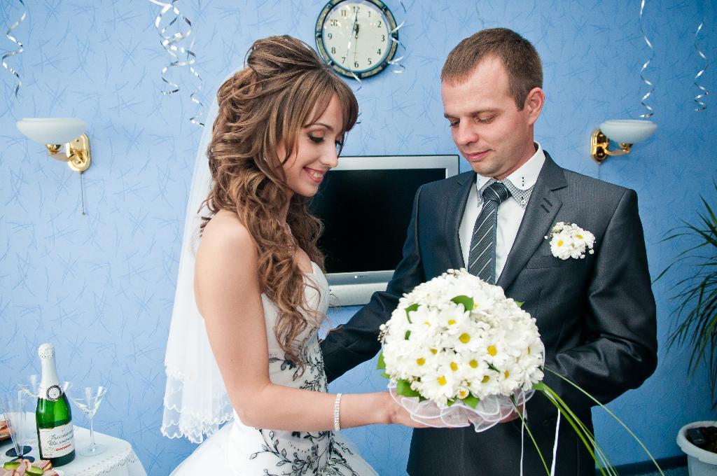 Свадебный букет. Цветочное настроение