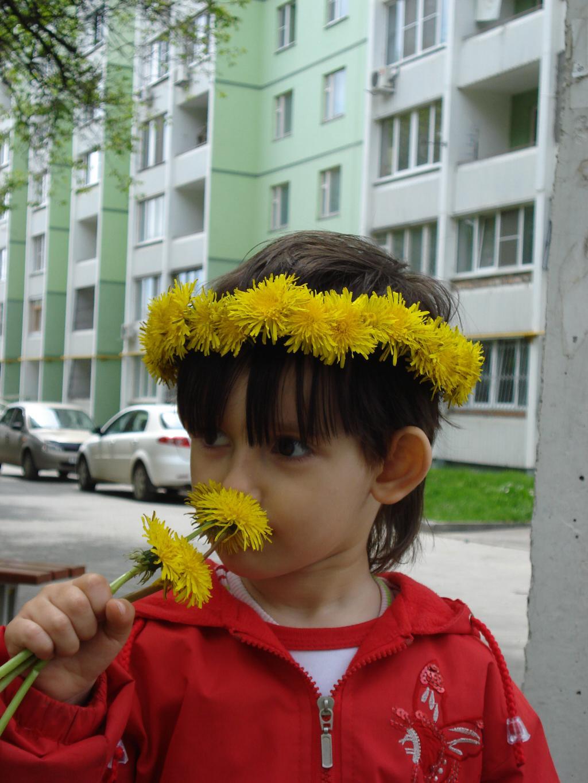 Моя Алинка - Аленький цветочек.. Цветочное настроение