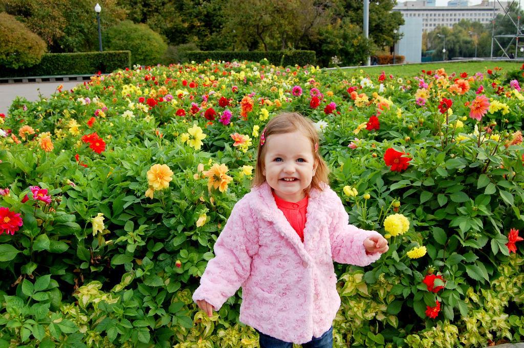 Дети - цветы жизни!. Цветочное настроение