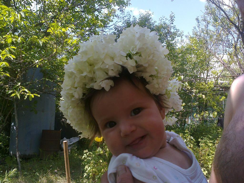 Девочка-весна. Цветочное настроение