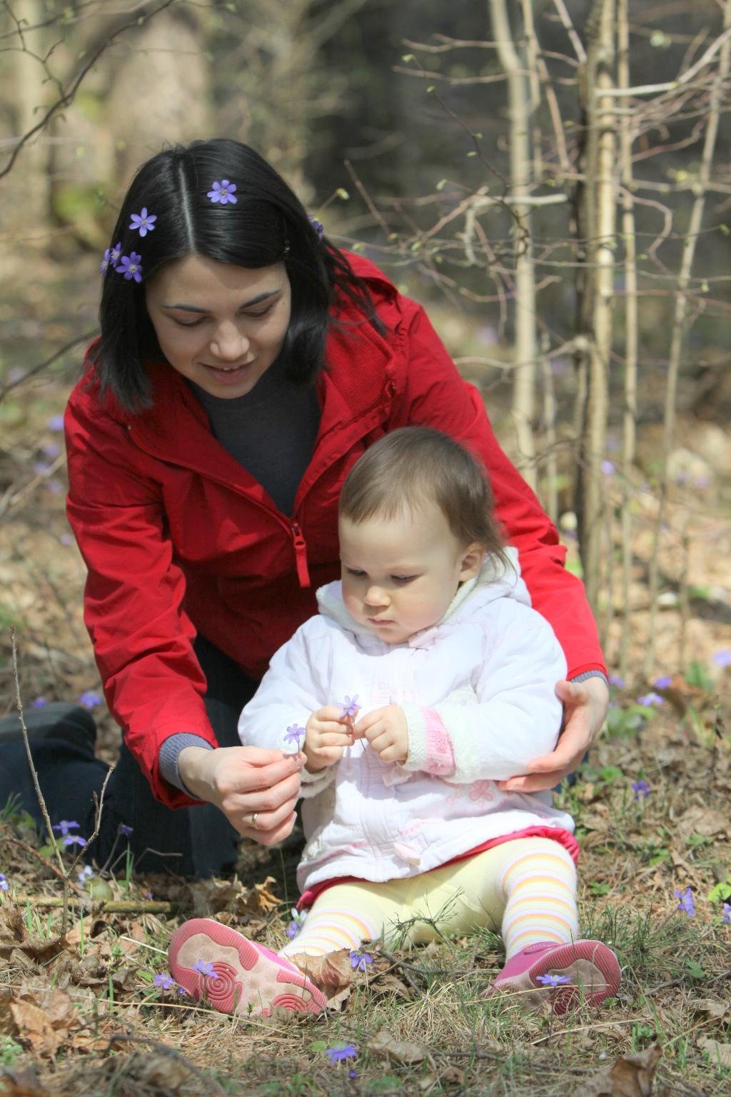 Долгожданная Аришкина весна!!!. Цветочное настроение