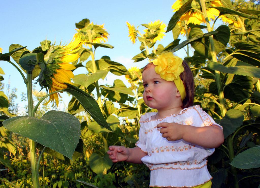 Солнечные дети.. Цветочное настроение