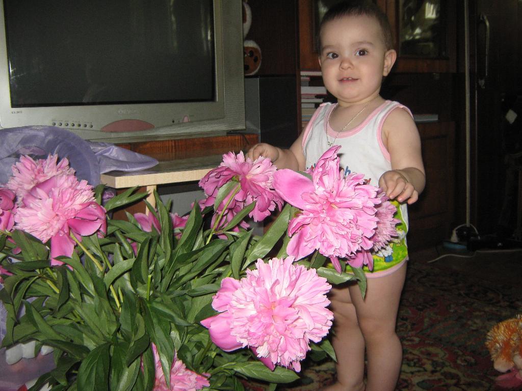 Моя первая красота в руках.... Цветочное настроение