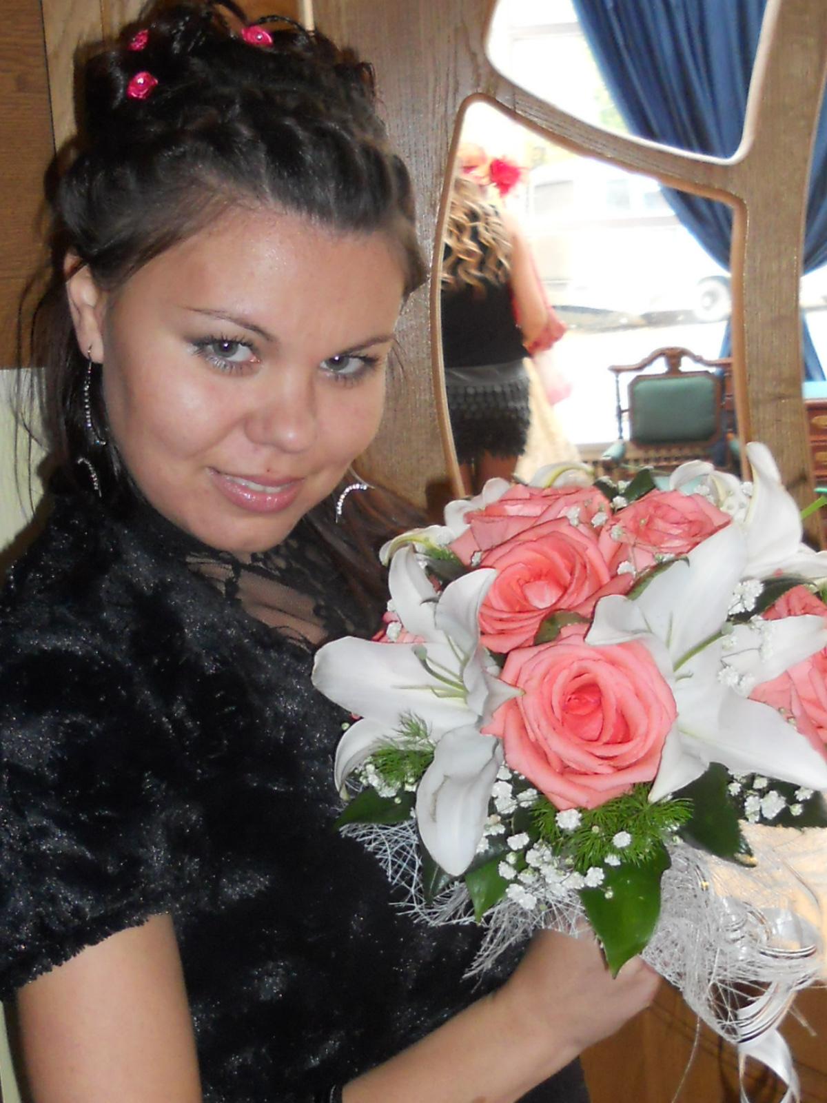 Свадебный букетик :). Цветочное настроение