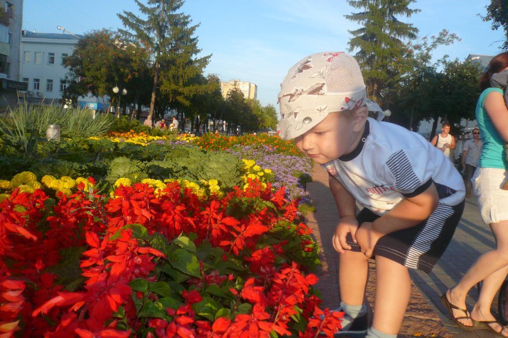 Кирилл. Цветочное настроение