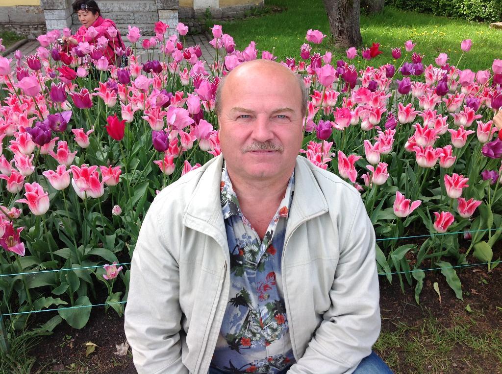 цветущая красота в Петергофе. Цветочное настроение