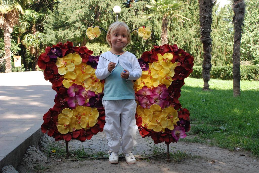 Бабочки-цветочки. Цветочное настроение