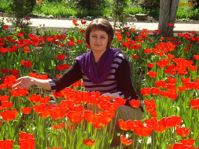 В царстве тюльпанов. Цветочное настроение
