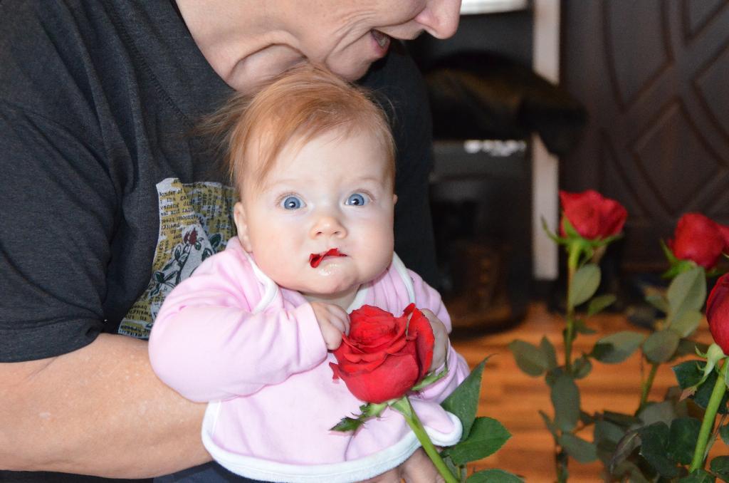 Мой День Св.Валентина!!!. Цветочное настроение